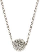 Givenchy Silver-Tone Fireball Necklace