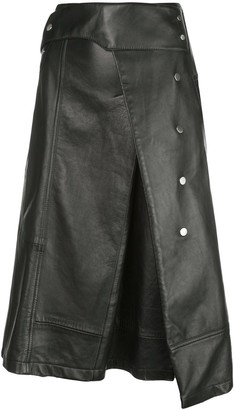 3.1 Phillip Lim Trench a-line skirt