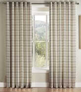 Montgomery Kirkwall Natural Lined Eyelet headed Curtains 168*229