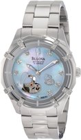 Bulova Women's Mechanical 96R151 Silver Stainless-Steel Automatic Watch with Dial