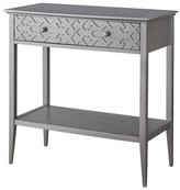 Threshold Fretwork Console Table