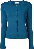 ESTNATION round neck cardigan - women - Acetate/Polyester/Nylon/Polyurethane - 38
