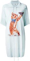 MM6 MAISON MARGIELA cat print dress - women - Cotton/Viscose - XS