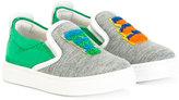 Fendi felt logo sneakers