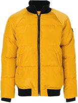 Paul & Joe zipped padded jacket