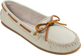Minnetonka Women's Smooth Leather Moc