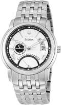 Bulova Men's 96B110 Silver Stainless-Steel Automatic Watch with Dial