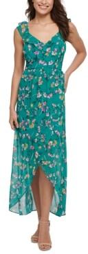 GUESS Floral-Print Maxi Dress
