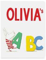 """Simon & Schuster """"Olivia's ABC"""" Board Book by Ian Falconer"""