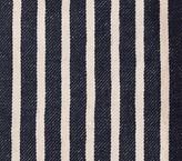 Pottery Barn Kids Fabric By The Yard: Vintage Stripe Indigo
