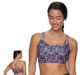 Gaiam Bra: Shine Wire-Free Low-Impact Yoga Sports Bra 44-00001