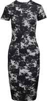 McQ by Alexander McQueen Printed stretch-cotton dress