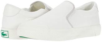 Lacoste Gripshot Slip-On 2202 CMA (Off-White/Off-White) Men's Shoes
