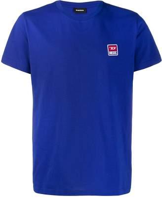 Diesel logo patch T-shirt