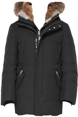 Mackage Edward Nordic Tech Coyote Fur-Trim & Rabbit Fur-Lined Down Coat