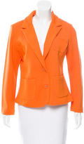 Magaschoni Peaked-Lapel Knit Blazer w/ Tags