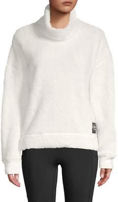 Calvin Klein Fleece Funnel-Neck Pullover