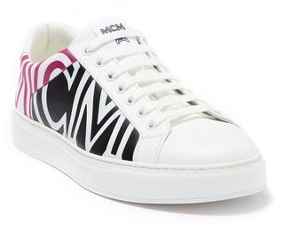 MCM Spectrum Side Logo Lace-Up Sneaker