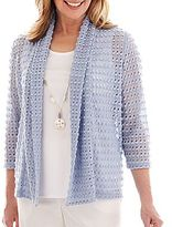 Alfred Dunner Shore Thing Textured Layered Top