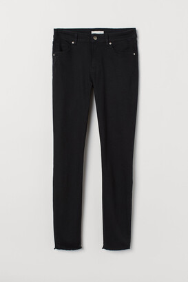 H&M Cropped Twill Pants