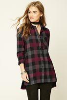 Forever 21 Buffalo Plaid Flannel Shirt