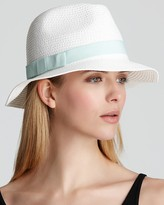 August Accessories Large Toyo Fedora