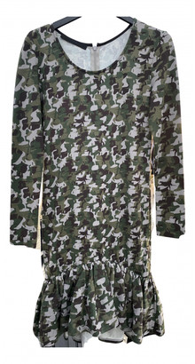 Karl Lagerfeld Paris Green Cotton - elasthane Dresses