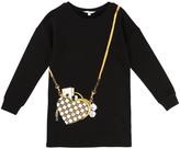Little Marc Jacobs Heart Bag Fleece Dress