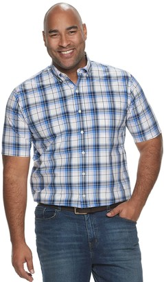 Croft & Barrow Big & Tall Classic-Fit Easy-Care Button-Down Shirt