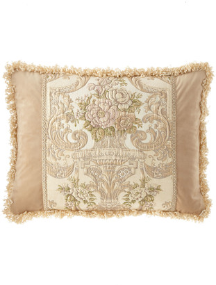 Dian Austin Couture Home Mayorka Pieced King Sham with Fringe