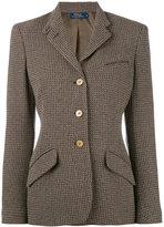 Polo Ralph Lauren tweed blazer - women - Polyamide/Viscose/Wool - 6