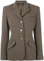 Polo Ralph Lauren tweed blazer - women - Wool/Polyamide/Viscose - 6