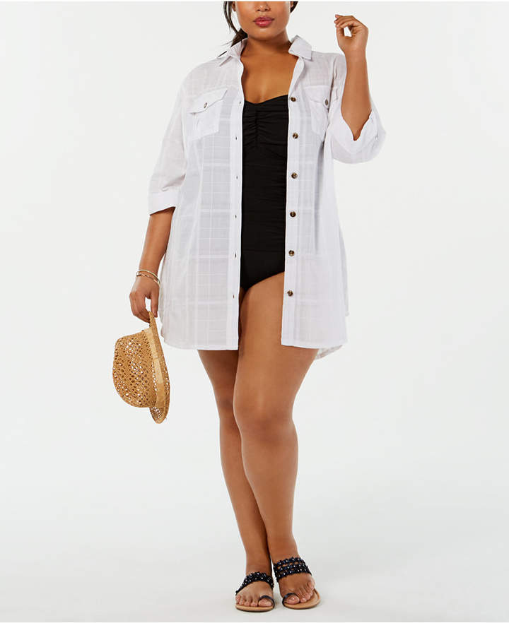 ffc1233c8b White Plus Size Swimsuits - ShopStyle