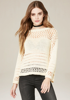 Bebe Open Stitch Sweater