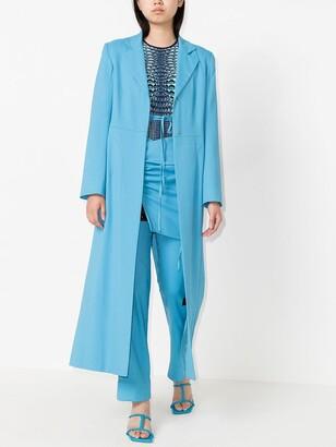 Supriya Lele Notch-Lapel Tailored Coat