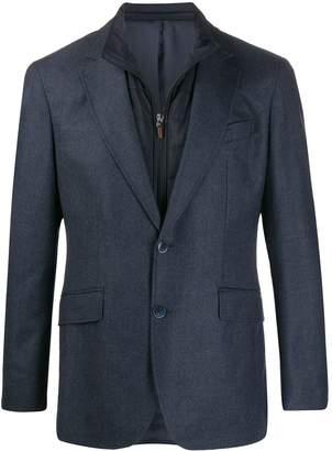 Hackett layered wool blazer