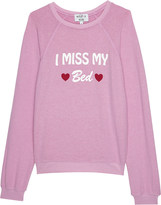 Wildfox Couture I Miss My Bed jumper 4-6 years