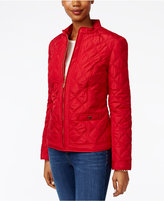 Charter Club Petite Quilted Jacket, Only at Macy's