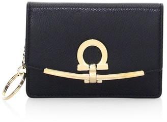 Salvatore Ferragamo Small Gancini Leather Wallet