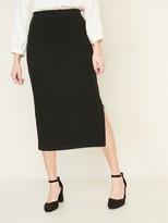 Old Navy Rib-Knit Midi Skirt for Women