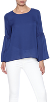 Entro Royal Bell Sleeve Top
