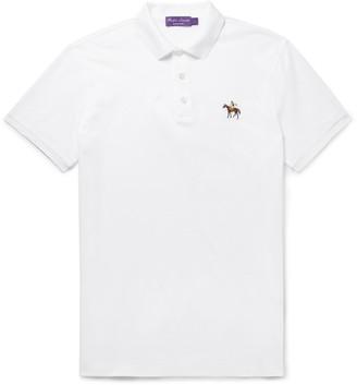 Ralph Lauren Purple Label Cotton-Pique Polo Shirt