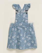 For Love & Lemons Toddler Girls) Berry Sweet Overall Dress
