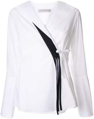 Palmer Harding Palmer / Harding Radiant wrap blouse