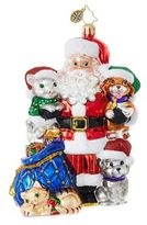 Christopher Radko Paws For Claus Figurine