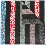 Sonia Rykiel printed wool scarf - women - Wool - One Size