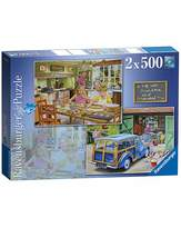Ravensburger Grandpa and Grandma Jigsaw 2x500 pc