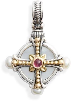 Konstantino Kleos Cross Pendant