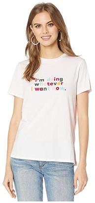 ban.do Classic Tee (Doing Whatever I Want) Women's Clothing