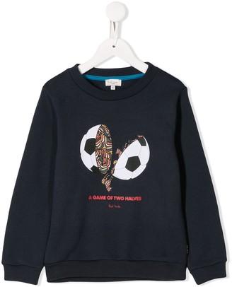 Paul Smith Printed Football Sweater